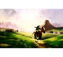 The Legend of Zelda Oil Photographic Print