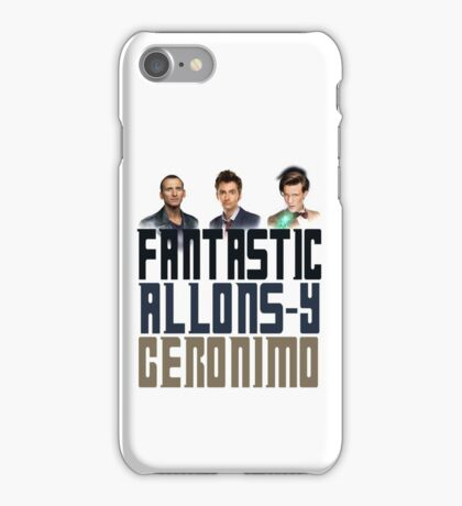 Doctor Who - Catchphrases v2 iPhone Case/Skin