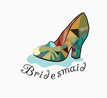 Bridesmaid, Cinderella, Fairy Tale shoe, wedding Women's Fitted Scoop T-Shirt