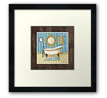 Monique Bath 2 Framed Print