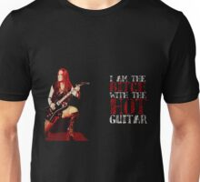 I AM THE BITCH WITH THE HOT GUITAR Unisex T-Shirt