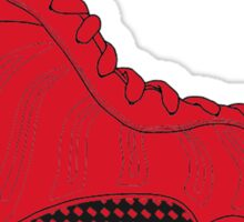 """Nike Air Foamposite One """"All Red"""" Sticker"""