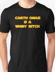 Something is bothering Carth Unisex T-Shirt
