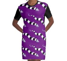 Sneaky sandworm Graphic T-Shirt Dress