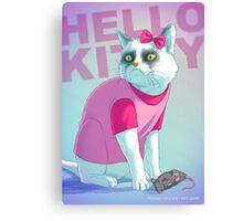 Hello Kitty Badass Canvas Print