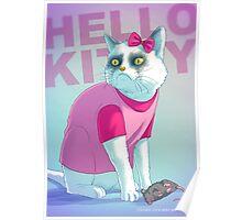 Hello Kitty Badass Poster