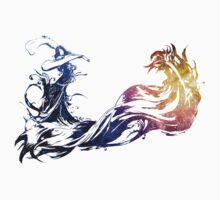 Final Fantasy X logo universe Kids Tee