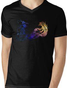 Final Fantasy X logo universe Mens V-Neck T-Shirt