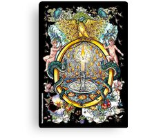 The Illustrated Alphabet Capital O (Fuller Bodied) Canvas Print