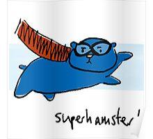 Super Hamster Poster