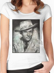Hank Williams by MB Women's Fitted Scoop T-Shirt
