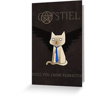 Supercatural Greeting Card