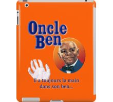 Oncle Ben (Uncle Ben's Parody) iPad Case/Skin