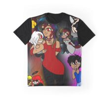 my fictional children + my chibi boyfriend Graphic T-Shirt