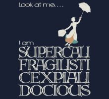 Mary Poppins - Supercalifragilisticexpialidocious v2 Kids Clothes