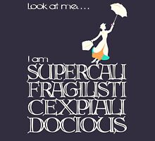 Mary Poppins - Supercalifragilisticexpialidocious v2 Womens Fitted T-Shirt
