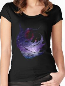 Final Fantasy IV logo universe Women's Fitted Scoop T-Shirt