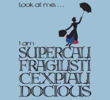 Mary Poppins - Supercalifragilisticexpialidocious Kids Clothes