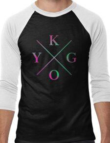 KYGO Color Men's Baseball ¾ T-Shirt
