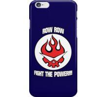 Gurren Lagann - Row Row Fight The Power!!!! iPhone Case/Skin