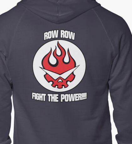 Gurren Lagann - Row Row Fight The Power!!!! Zipped Hoodie