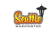 Seattle, WA Photographic Print