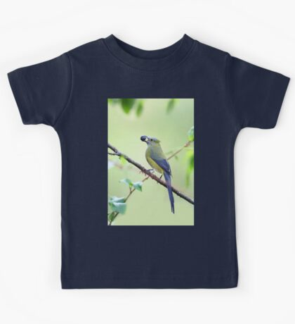 Long-tailed Silky-Flycatcher - Costa Rica Kids Tee