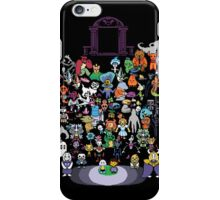 Undertale bits iPhone Case/Skin