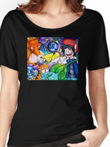 pokemon on acid Women's Relaxed Fit T-Shirt