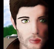 Dean Winchester  by sybilthorn