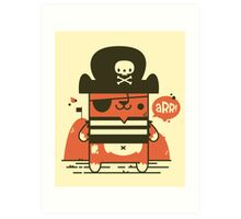 Pirate Kitty Art Print