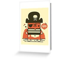 Pirate Kitty Greeting Card