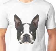 Crystalline Boston Terrier Unisex T-Shirt