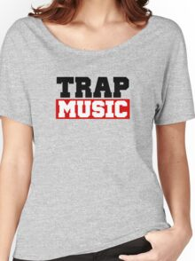 TRAP MUSIC - BASS PARTY Women's Relaxed Fit T-Shirt