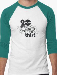 20 years Men's Baseball ¾ T-Shirt