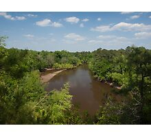 Cliffs of the Neuse River Overlook Photographic Print
