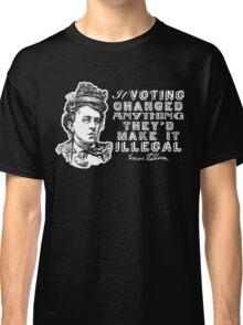 Emma Goldman On Voting Classic T-Shirt