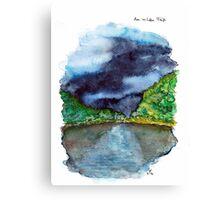 Am wilden Fluss (The River Wild) Canvas Print