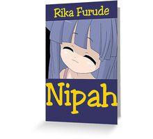 Higurashi When They Cry - Nipah Greeting Card