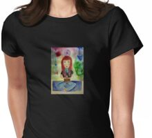 Meditate  Womens Fitted T-Shirt