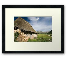 Natural park of Somiedo Framed Print