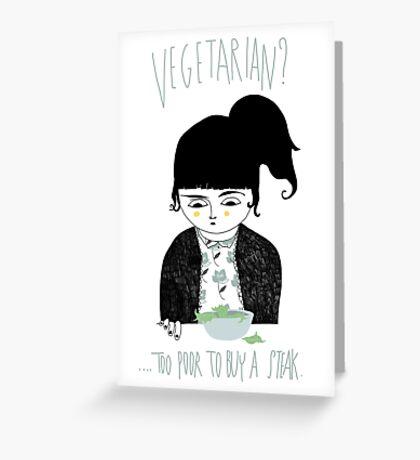 Vegetarian? Greeting Card