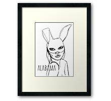 Alabama Project Love´s Kate Framed Print