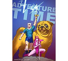 Adventure Time Badass Photographic Print