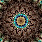Peacock Mandala by SexyEyes69