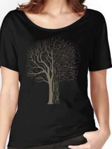 Digital Tree Women's Relaxed Fit T-Shirt