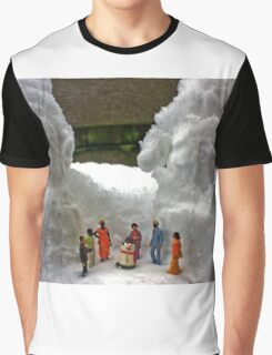 The First Time Snow People Graphic T-Shirt