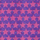 Pink and Purple Paper Stars by AdrienneOrpheus