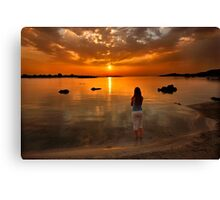 Keep on dreaming on Canvas Print