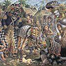 Traditional Barong Dance by sastrod8